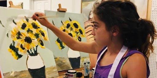 Summer art camp! Painting and mosaic(6-12yrs)