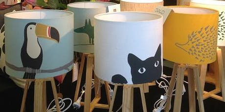 Make your own lampshade tickets