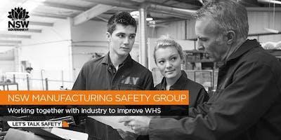 Manufacturing Safety Group - Managing Machine Guarding