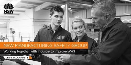 Manufacturing Safety Group - Managing Machine Guarding
