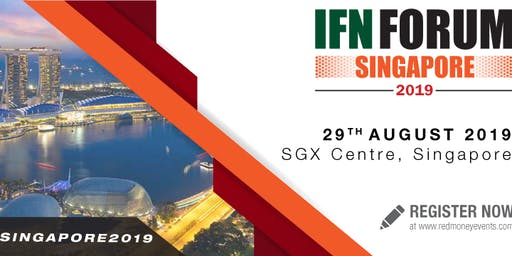 IFN Singapore Forum 2019 - In Partnership with Singapore Exchange