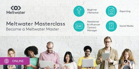Meltwater Social Media Masterclass tickets