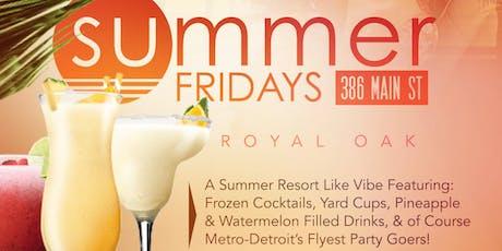 Summer Fridays  tickets
