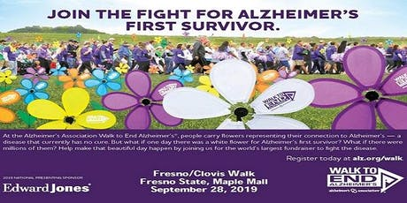 Fresno-Clovis Walk to End Alzheimer's tickets