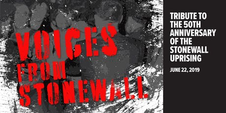 CAMP Rehoboth Presents Voices From Stonewall tickets