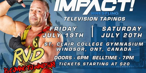 Impact Wrestling July Television Tapings