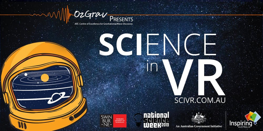 Immersive Science III: Astronomy for All Australians (Adults)(Doors open at  6:30)