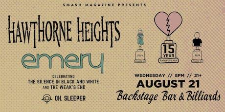 Hawthorne Heights & Emery tickets