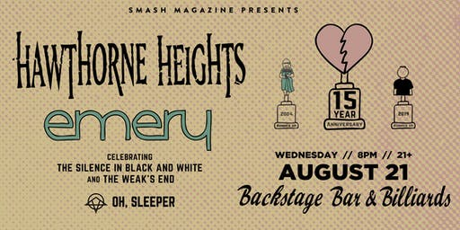 Hawthorne Heights & Emery