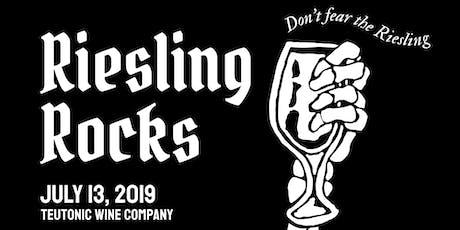 Riesling Rocks 2019 tickets