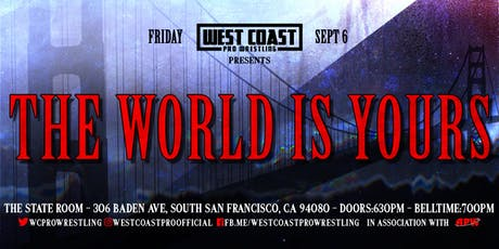 The World Is Yours tickets