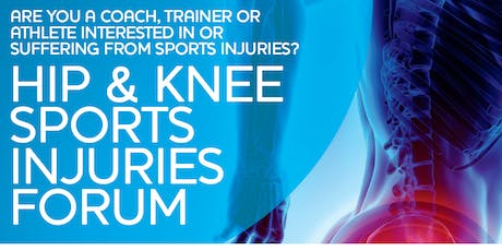 Hip and Knee Sports Injuries Forum tickets