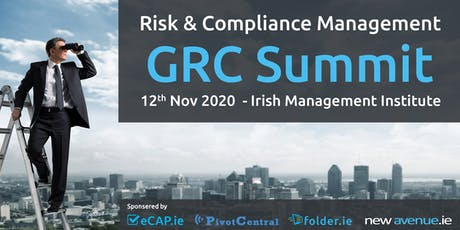 Governance, Risk & Compliance Management - 2020 GRC Summit tickets