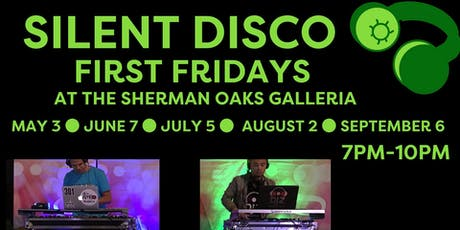 Free Silent Disco Event - First Fridays at Sherman Oaks Galleria tickets
