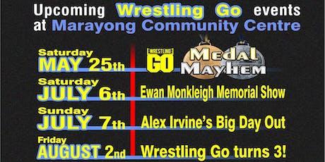 Wrestling GO: Ewan Monkleigh Memorial Show tickets