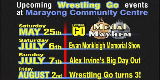 Wrestling GO: Ewan Monkleigh Memorial Show