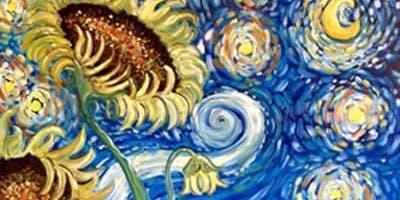 Starry Night Sunflowers - Sydney