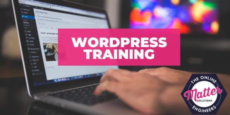 WordPress Training Sydney - Friday 9th August 2019 tickets