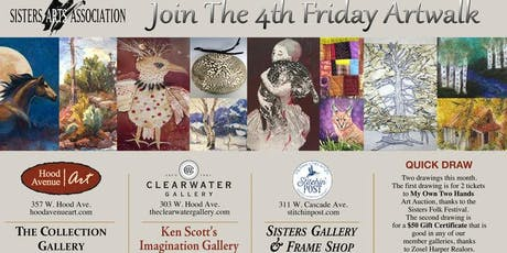 4th FRIDAY ART STROLL IN SISTERS, OR, 4-7PM tickets