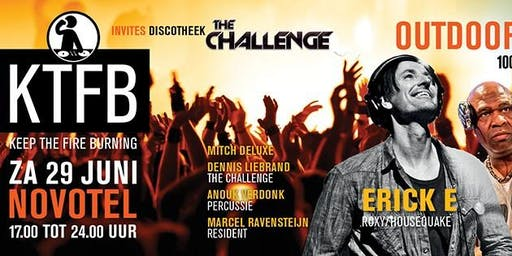 KTFB invites discotheek The Challenge Outdoor Edition