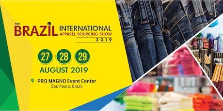 Brazil International Apparel Sourcing Show tickets