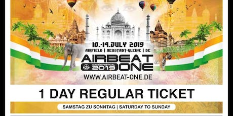 Airbeat One - One Day Regular Saturday Tickets