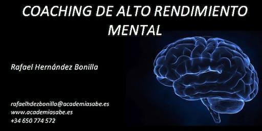Coaching Alto Rendimiento Mental (Primera Sesión Online o Presencial GRATIS )