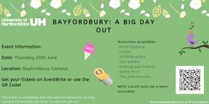 UH Bayfordbury: A Big Day Out