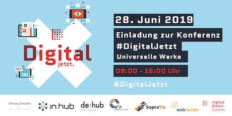 #DigitalJetzt tickets