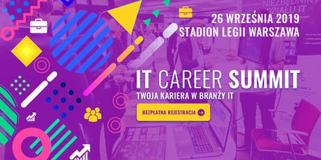 IT Career Summit  - Informatyczne targi pracy tickets