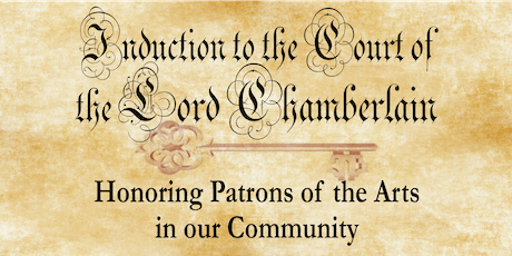 Induction to the Lord Chamberlain Gala 2019 tickets