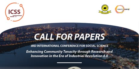 3rd International Conference for Social Science (ICSS) tickets