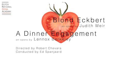 Blonde Eckbert & A Dinner Engagement tickets