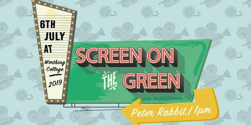 Screen on the Green Showing 'Peter Rabbit'