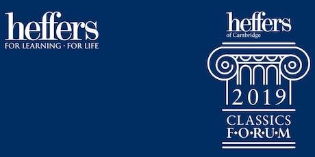 The Heffers 2019 Classics Forum tickets