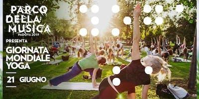Giornata Mondiale dello Yoga ● Parco della Musica ● Padova