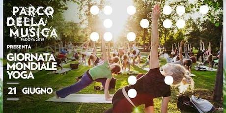 Giornata Mondiale dello Yoga ● Parco della Musica ● Padova biglietti