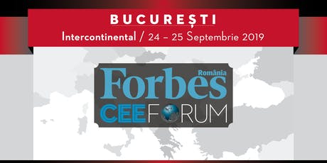 Forbes CEE Forum 2019 tickets