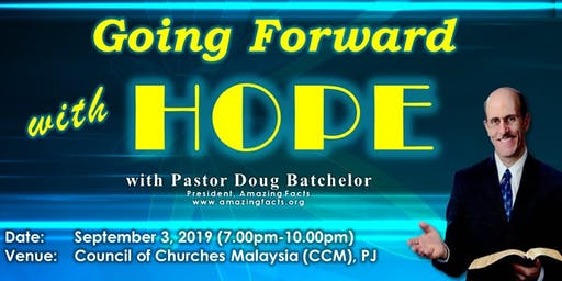 One Evening with Pastor Doug Batchelor of Amazing Facts in Malaysia