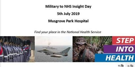 Military to NHS Insight Day tickets