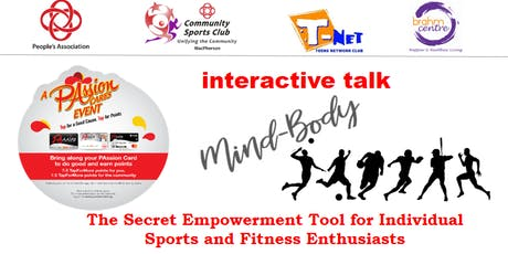 FREE Talk: The Secret Empowerment Tool for Individual Sports and Fitness Enthusiasts tickets