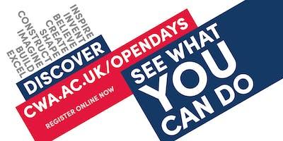Open evening - Cambridge campus - April 2020