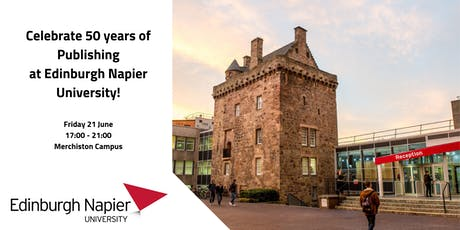 50th Anniversary of Publishing at Edinburgh Napier University tickets
