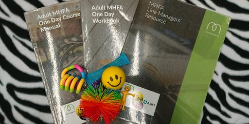 Mental Health First Aid (MHFA) Champion 1 Day Certification (Workplace)