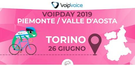 VoipDay Piemonte e Valle D'Aosta biglietti
