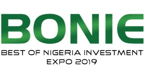 BEST OF NIGERIA INVESTMENT EXHIBITION 2019 tickets