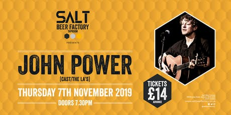 John Power (Cast/The La's) tickets