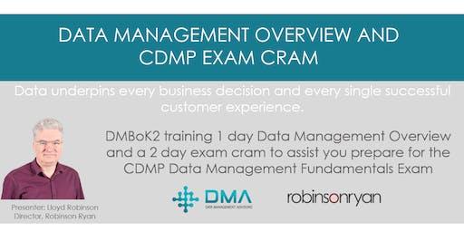 Data Management Overview and CDMP Exam Cram