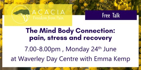 The Mind Body Connection: pain, stress and recovery tickets
