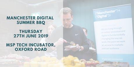 Manchester Digital Summer BBQ 2019 tickets